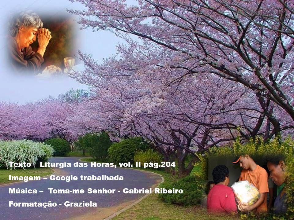Texto – Liturgia das Horas, vol.