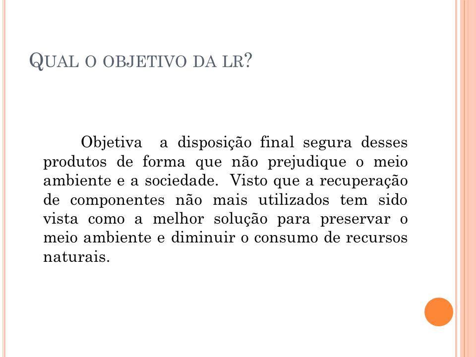 Q UAIS SÃO AS EMPRESAS DE REPROCESSAMENTO NO BRASIL .