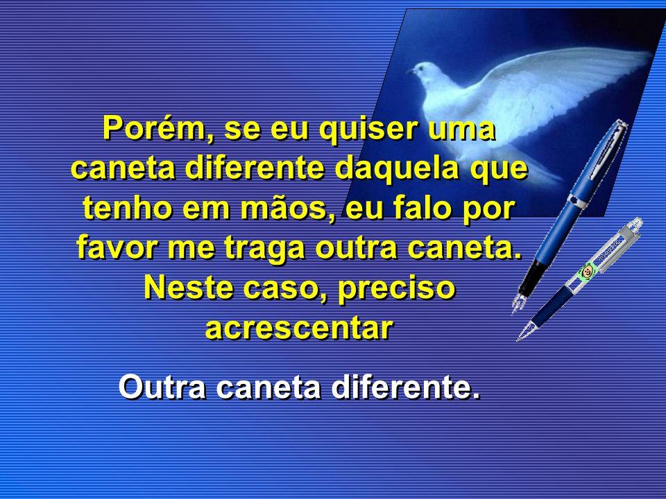 Porque a palavra OUTRO para designar algo igual ou OUTRO para designar algo diferente, em português é a mesma.