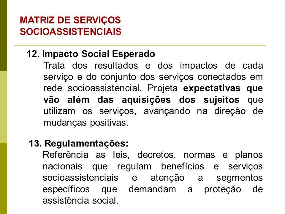 1.Serviço de Proteção e Atendimento Integral à Família (PAIF); 2.