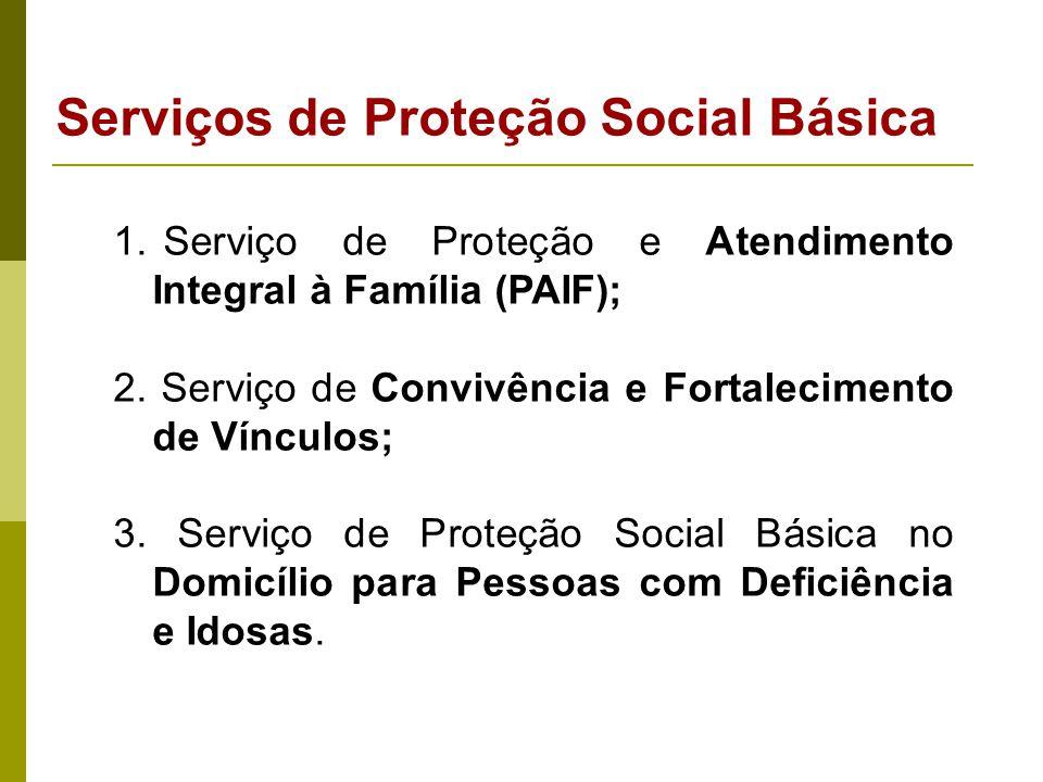 Centros de Referência da Assistência Social - CRAS Os programas, projetos e serviços devem ser executados de forma direta nos Centros de Referência da Assistência Social - CRAS, e em outras unidades básicas de assistência social (governamental e não governamental).