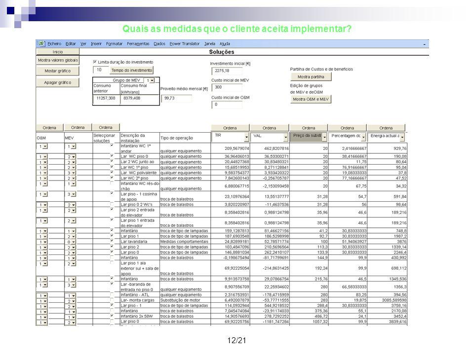 13/21 Quais serão as fontes e formas de financiamento.