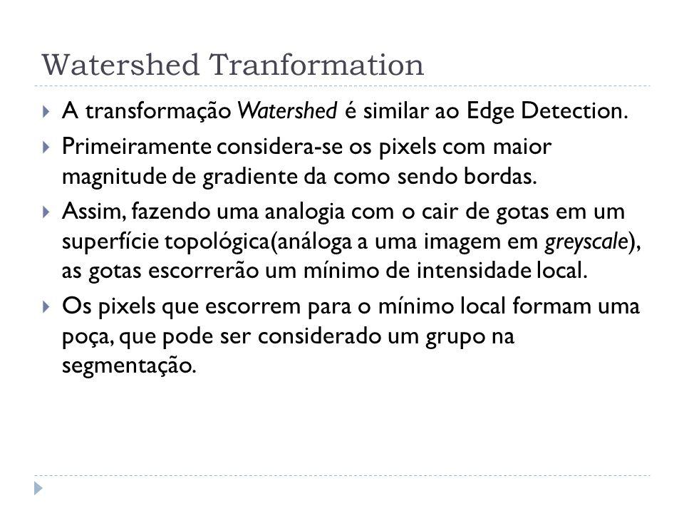 Watershed transformation