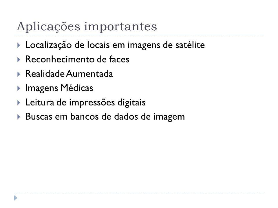 Abordagem para o problema Existem inúmeros algoritmos para segmentação de imagem.