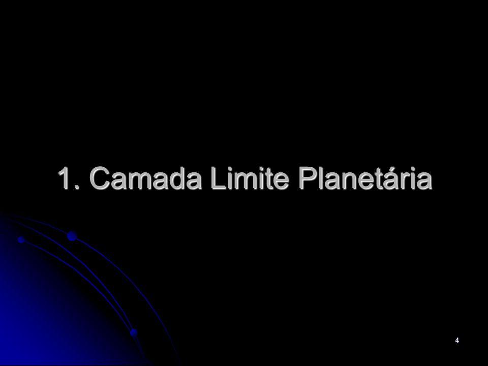 5 Motivação A Camada Limite Planetária (CLP) é a região turbulenta da atmosfera que está em contato direto com a superfície.