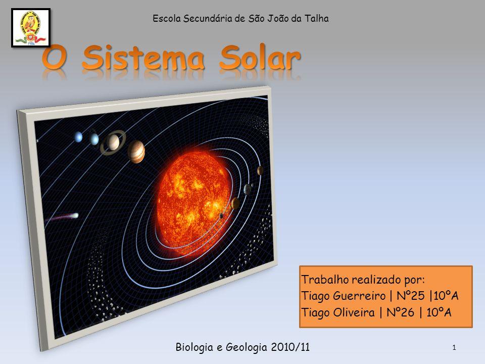 2Biologia e Geologia 2010/11 Como se formou o Sistema Solar .
