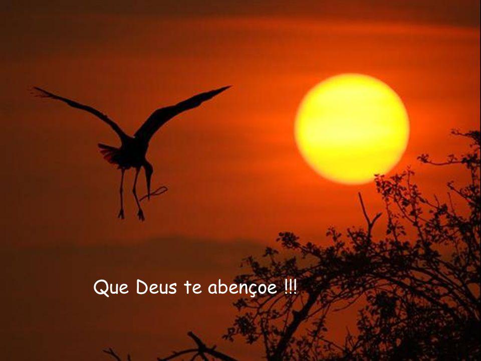 Que Deus te abençoe !!!.