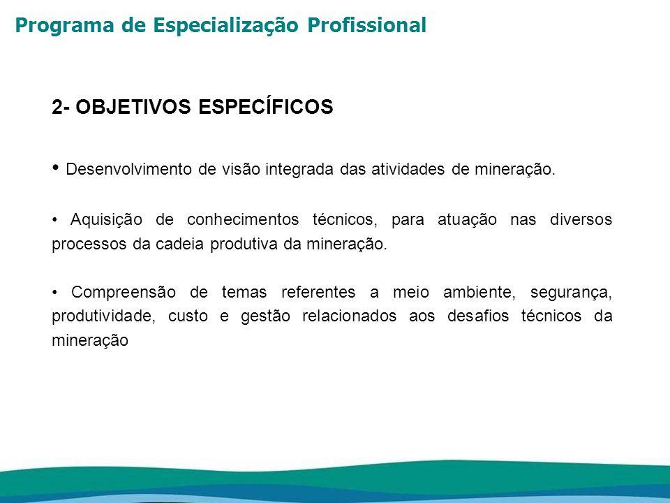 Programa de Especialização Profissional METODOLOGIA Abordagem Teórico-Prática: Aulas expositivas - nestas aulas serão apresentados os conceitos e suas aplicações.