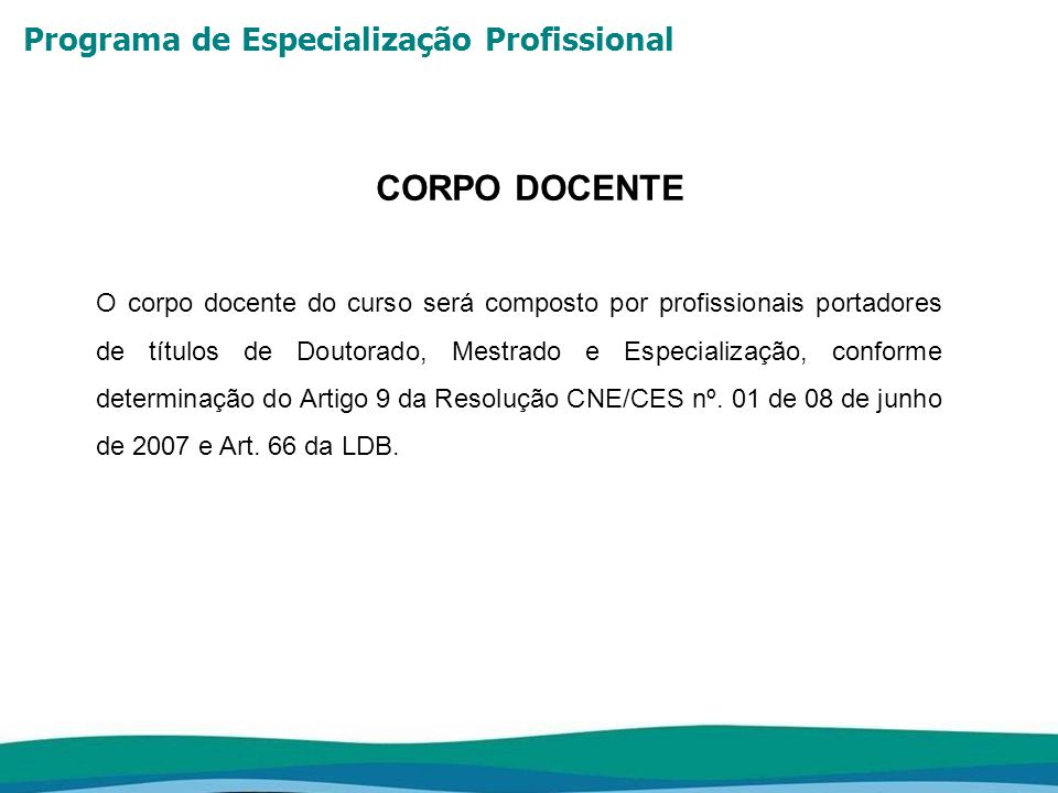 Programa de Especialização Profissional ESTRUTURA CURRICULAR 1.Operação de Mina Coordenador: Wilson Trigueiro de Sousa Professores: Carlos A.