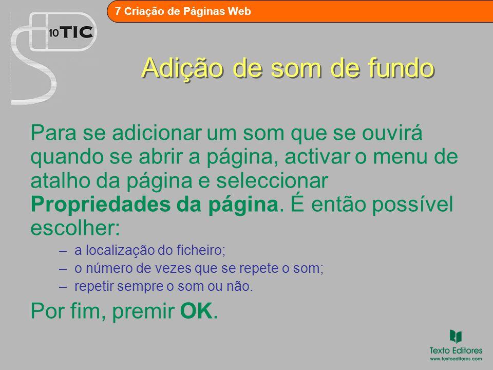 7 Criação de Páginas Web Criação de formulários Dois dos modelos de página disponíveis em FICHEIRO – Novo são relativos a formulários: 1.Formulário de confirmação – permite confirmar a recepção de entradas por parte do utilizador nas páginas de debate, de registo ou de resultado do formulário.