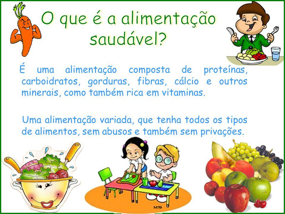 Veja a seguir, algumas recomendações: 1º) Frutas, legumes e verduras: Aumentar e variar o consumo.