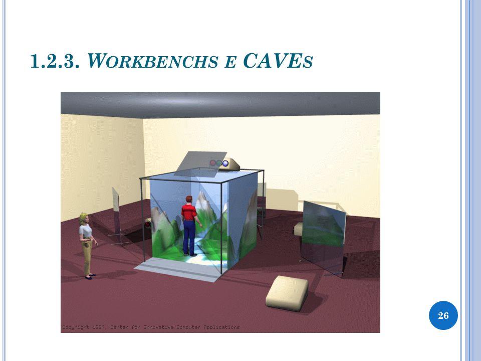 1.2.3. W ORKBENCHS E CAVE S 27