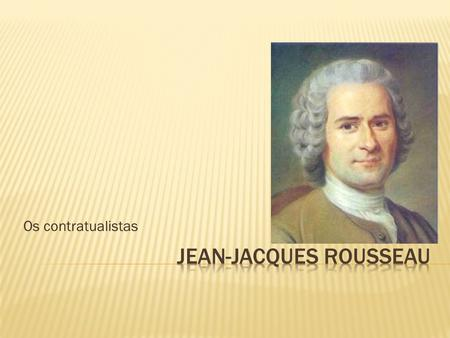 political philosophy locke and rousseau essay