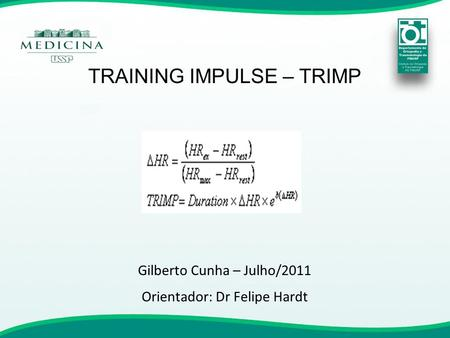 TRAINING IMPULSE – TRIMP