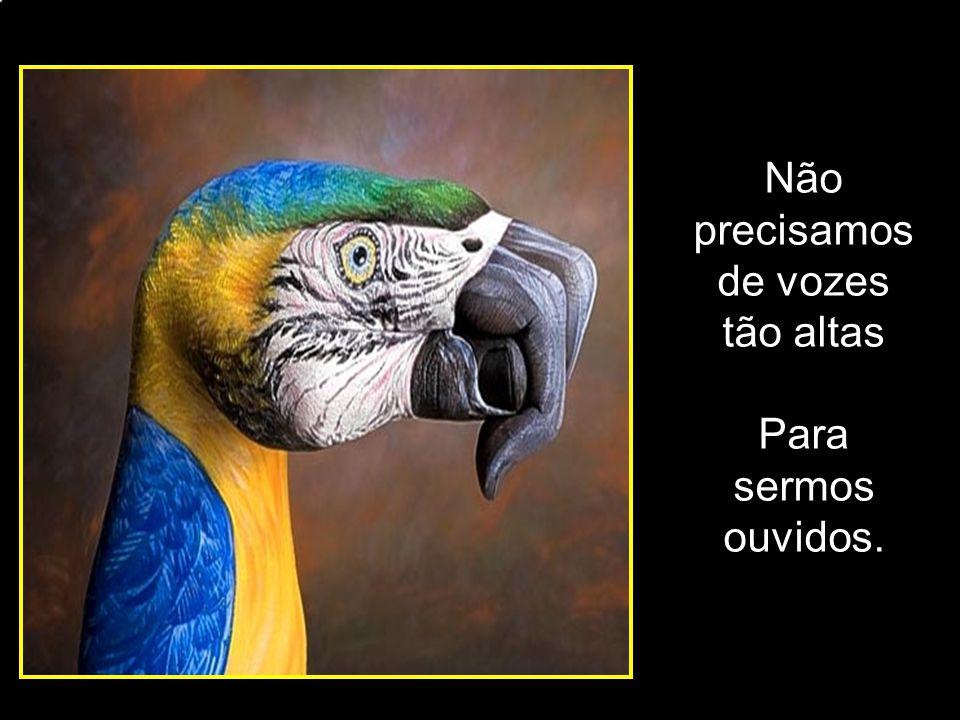 adao-las@ig.com.br Não precisamos de vozes tão altas Para sermos ouvidos.