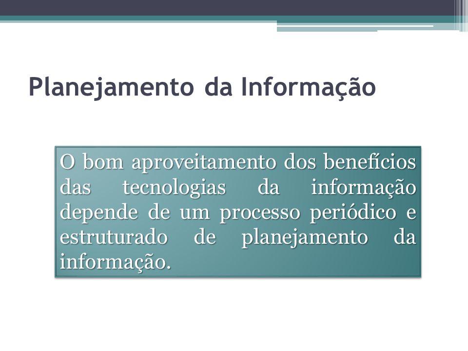Como obter bons resultados com a TI Visão estratégica de como os sistemas de informação da organização deverão ser implementados ou alterados; Objetivo:Objetivo: atender as necessidades de informação da organização por um período considerado adequado;