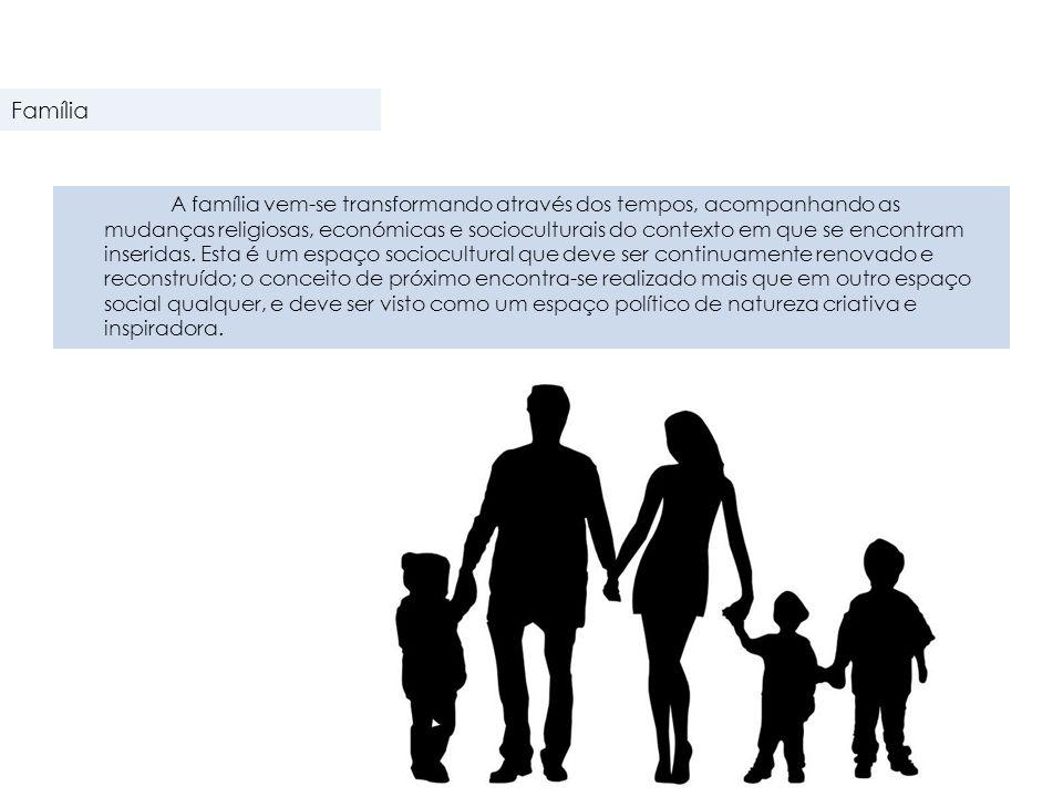A familiar pode assumir uma estrutura nuclear ou conjugal, que consiste num homem, numa mulher e nos filhos, biológicos ou adotados, habitando num ambiente familiar comum.