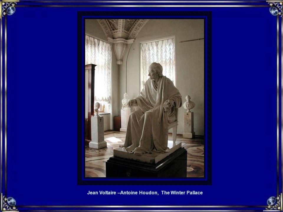 Jean Voltaire –Antoine Houdon, The Winter Pallace