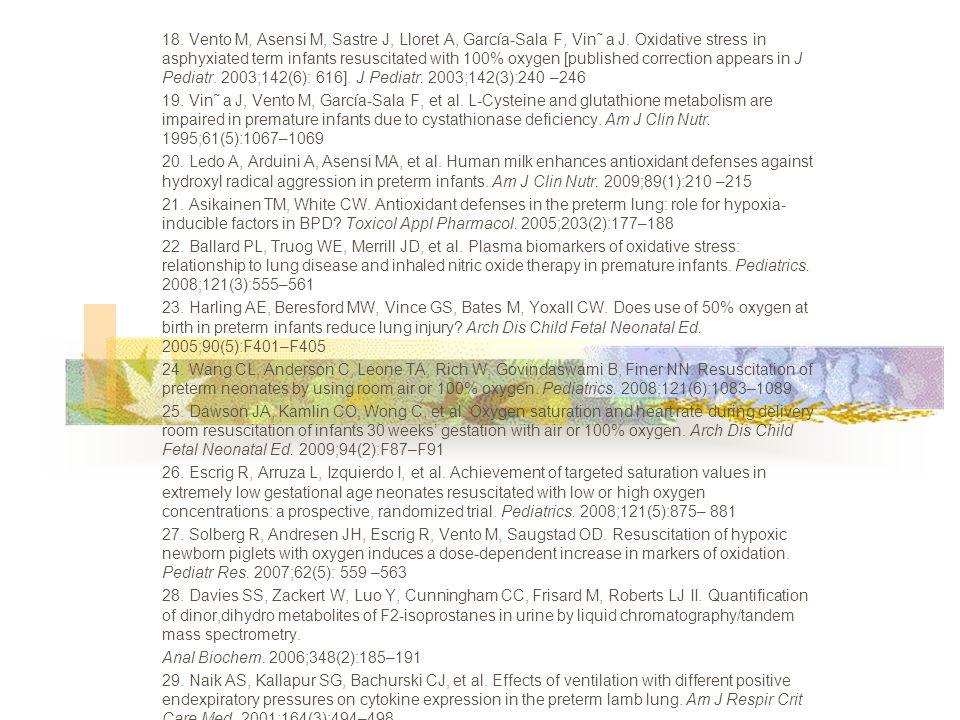 31.Spanish Society for Neonatology, Neonatal Resuscitation Group.
