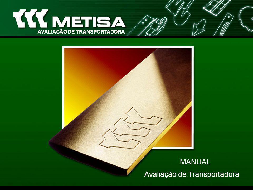 Prefácio Este manual é um instrumento orientativo das condições necessárias ao Cadastramento, Certificação e Parceria de Transportadoras com a METISA.