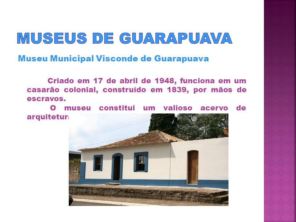 Foi inaugurado dia 9 de dezembro de 1997, no Parque da Araucárias.