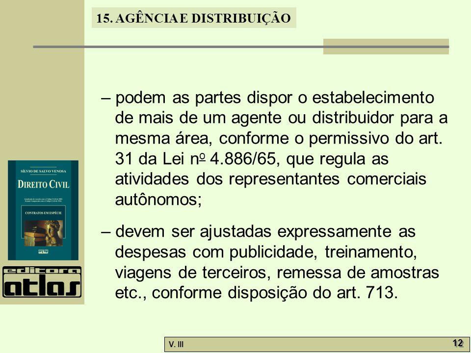 15.AGÊNCIA E DISTRIBUIÇÃO V. III 13 15.3.2.