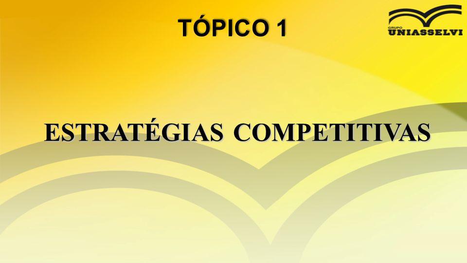 • Estratégia é a mobilização de todos os recursos da empresa no âmbito nacional ou internacional visando atingir objetivos a longo prazo [...] seu objetivo é permitir maior flexibilidade de respostas às contingências imprevisíveis.