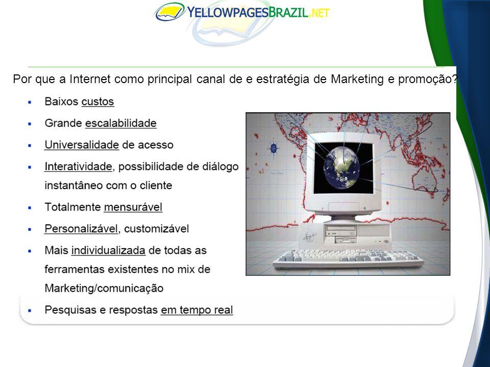 365 milhões de usuários/idioma Inglês 1,6 bilhões de usuários 184 milhões de usuários /idioma Chinês 101 milhões de usuários / idioma Espanhol O Português é o 7⁰ idioma