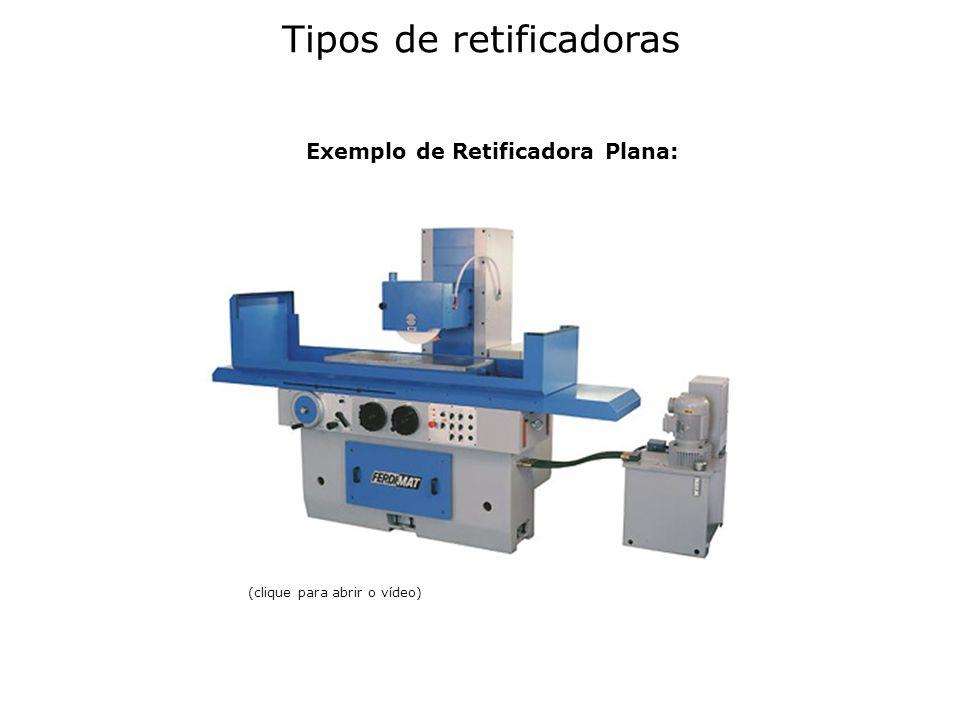 - Retificadora Cilíndrica Universal: A retificadora cilíndrica universal é uma máquina utilizada na retificação de todas as superfícies cilíndricas, externas ou internas de peças.