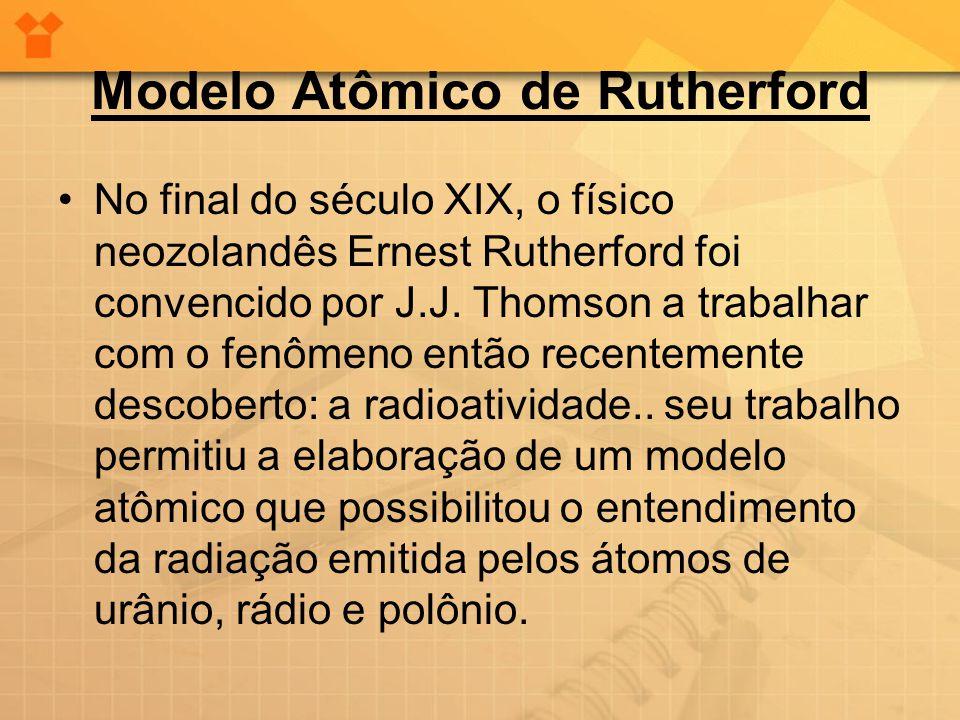 •Aos 26 anos de idade, Rutherford fez sua maior descoberta.