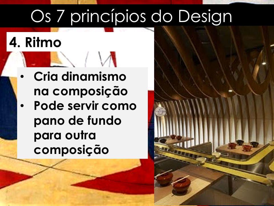 Os 7 princípios do Design 5.