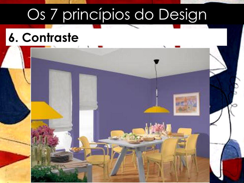 Os 7 princípios do Design 7.
