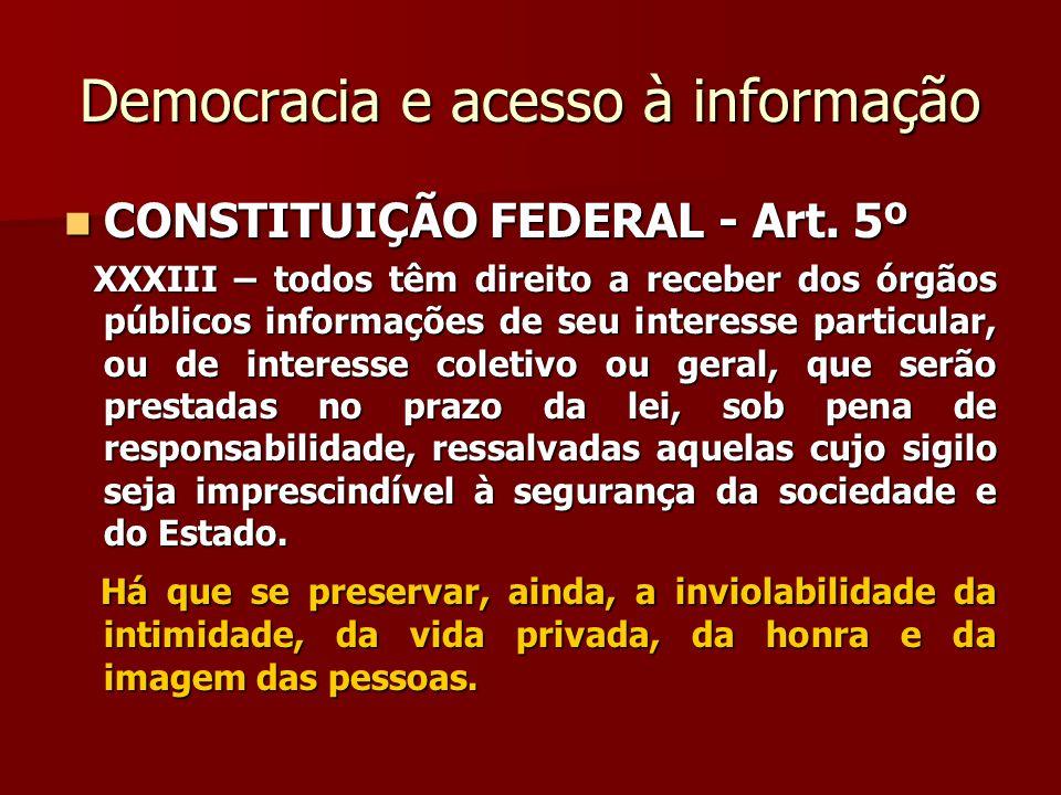 Democracia e participação popular   Art.37...