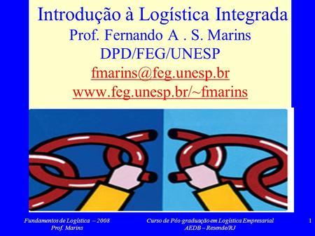 Ps graduao em logstica logstica de operaes globais ppt carregar introduo logstica integrada prof fernando a s fandeluxe Choice Image