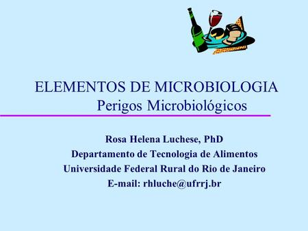Microbiologia alimentar powerpoint