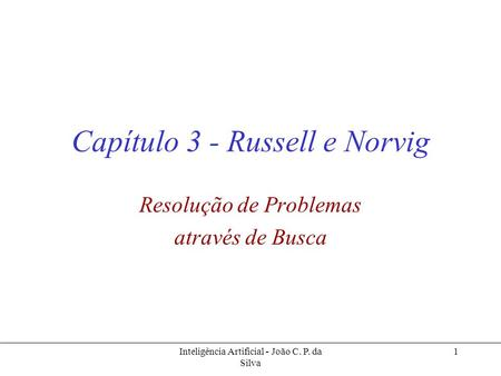 Capítulo 3 - Russell e Norvig