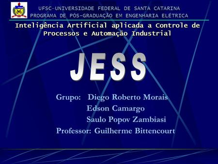 UFSC–UNIVERSIDADE FEDERAL DE SANTA CATARINA