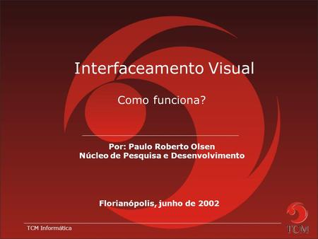 Interfaceamento Visual