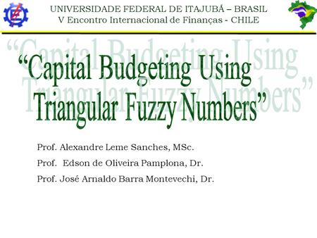"""Capital Budgeting Using"