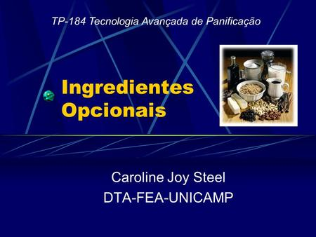 Ingredientes Opcionais