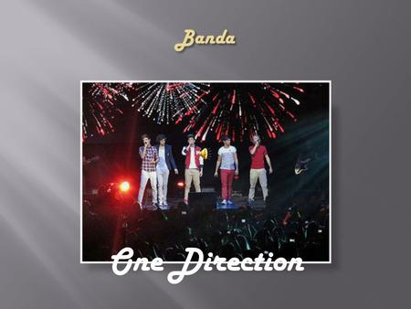 Banda One Direction.