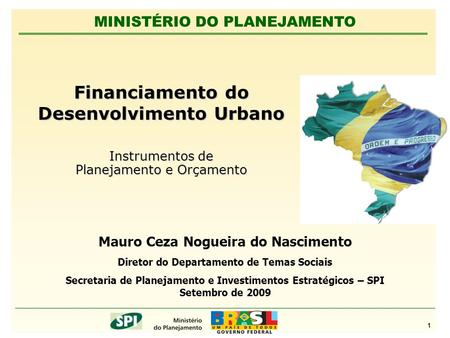 Financiamento do Desenvolvimento Urbano