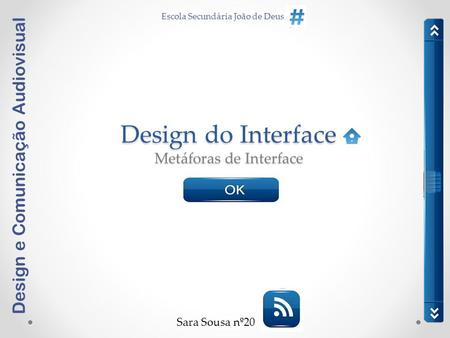 Design do Interface Metáforas de Interface
