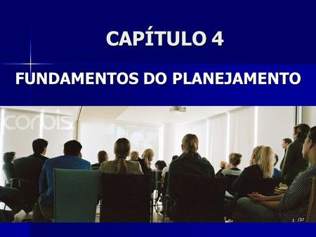 FUNDAMENTOS DO PLANEJAMENTO