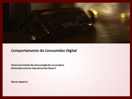 Comportamento do Consumidor Digital