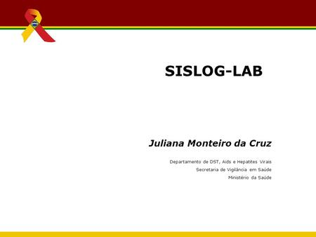 SISLOG-LAB Juliana Monteiro da Cruz