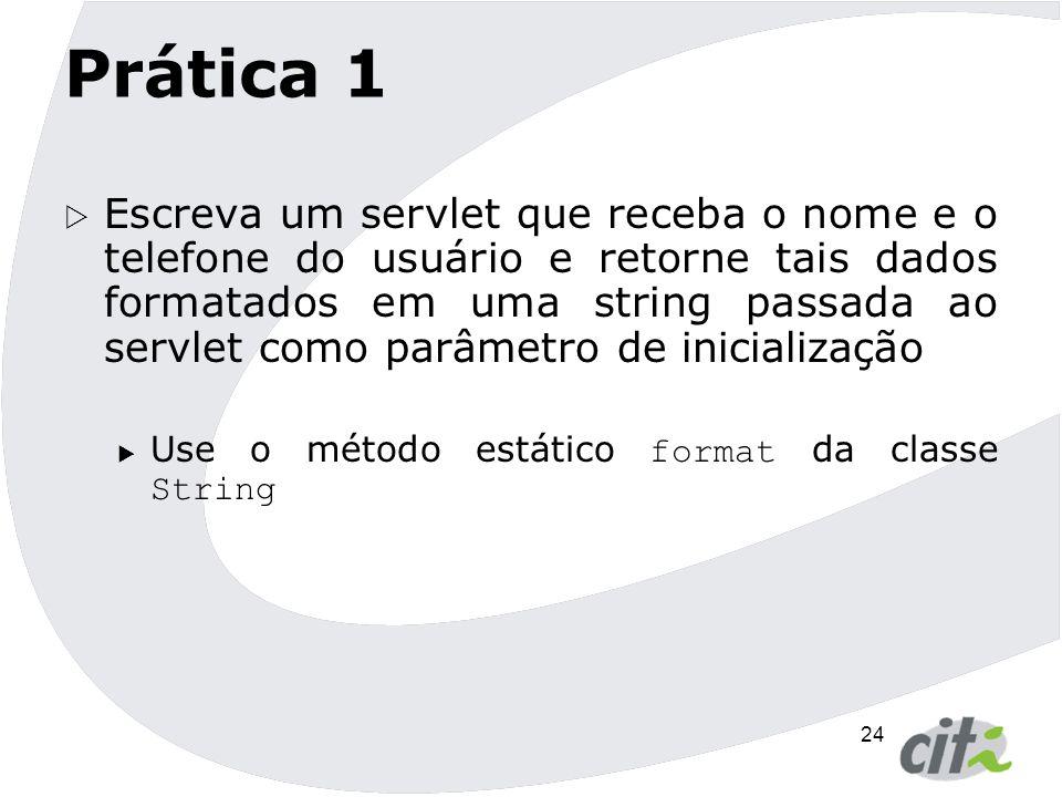 25 Servlets - Enviando respostas  Interface ServletResponse  Provê métodos de resposta que são relevantes a qualquer protocolo.