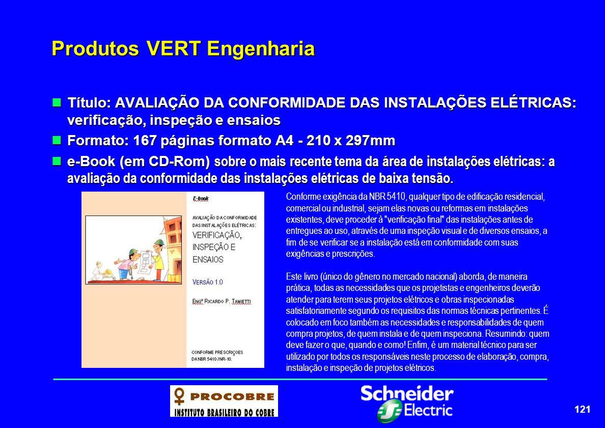 122 Produtos VERT Engenharia Título: INTERPRETANDO A NBR 5410: INFLUÊNCIAS EXTERNAS E GRAUS DE PROTEÇÃO Título: INTERPRETANDO A NBR 5410: INFLUÊNCIAS EXTERNAS E GRAUS DE PROTEÇÃO Formato: 63 páginas formato A4 - 210 x 297mm Formato: 63 páginas formato A4 - 210 x 297mm e-book (em CD-Rom) + Software G-pro versão 1.0 e-book (em CD-Rom) + Software G-pro versão 1.0 Um dos grandes destaques da NBR 5410, e, infelizmente, na maioria das vezes, passado despercebido por grande parte dos projetistas, é a classificação das chamadas influências externas, as quais orientam as tarefas de seleção e instalação dos componentes de uma instalação elétrica.