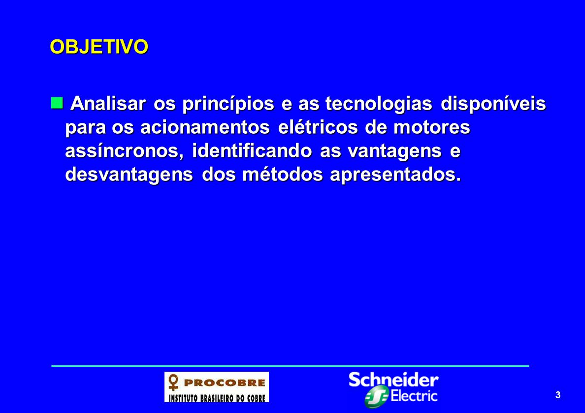 4 PROGRAMA Tipos de motores elétricos Tipos de motores elétricos Contatores – categoria de emprego de motores Contatores – categoria de emprego de motores Coordenação e seletividade Coordenação e seletividade Tipos de partidas de motores Tipos de partidas de motores Acionamentos elétricos Acionamentos elétricos Sistemas de Velocidade variável Sistemas de Velocidade variável
