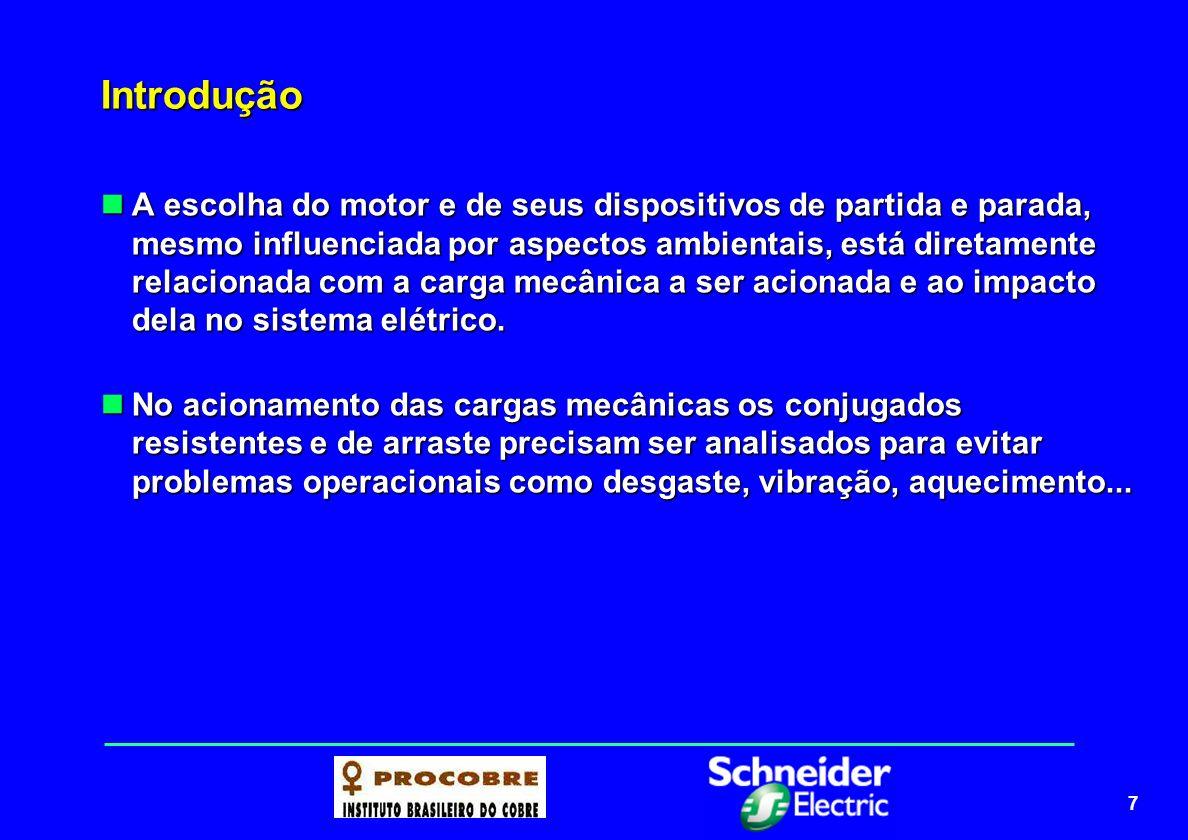 8 Dispositivos de partida de motores elétricos Funções de partidas-motores Funções de partidas-motores